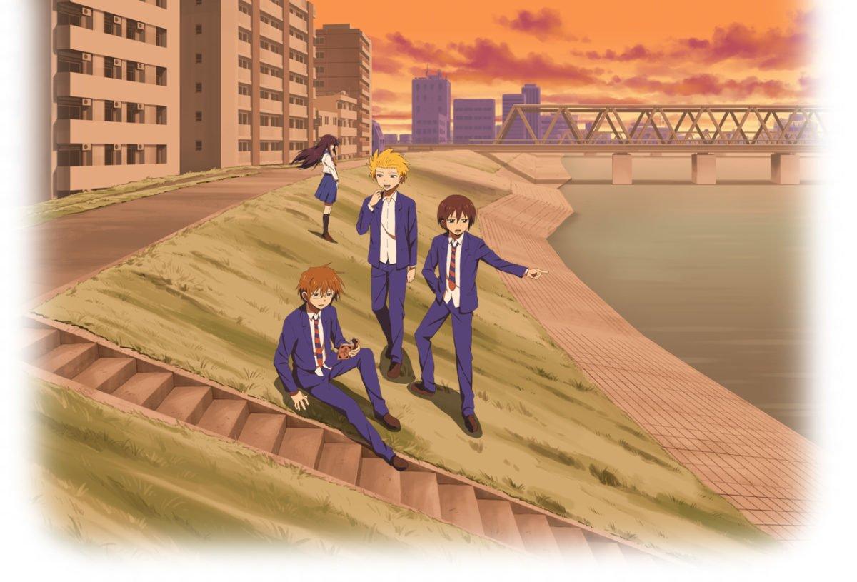 Danshi Koukousei No Nichijou Anime Visual