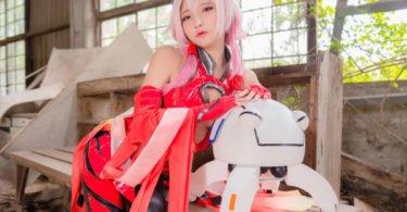 Guilty Crown Inori Yuzuriha Cosplay By Small Pinkrose 5