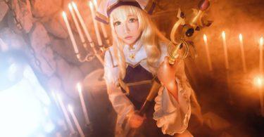 Goblin Slayer Priestess Cosplay By Chihiro 6