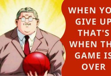 Famous Anime Phrases